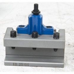 Tool Holder for 40-positioning system, Size E. For round steels