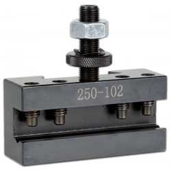 Tool Holder 250-102 14 mm ( with a V-groove for round steel) Quick change Tool Post