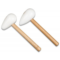 Plastic mallets 2 pcs. 76 mm / round and pointed