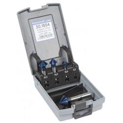 Karnasch Kartioupotin 90° 5-osainen HSS-Xe Blue-Tec pinnoitus