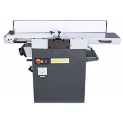 NOVA PT-310S Jointer/Planer Combination Machine with helical cutter