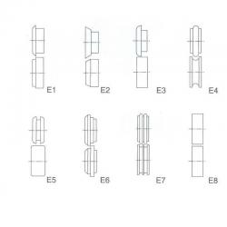 Additional Rolls E1-E8 TB12 / T-12