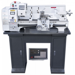 NOVA 250VFD Pro Metal Lathe (with 2-axis digital measuring system with display & Variable frequency drive)