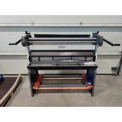 NOVA 3 in 1 Combination Sheet Metal Machine 1,5 x 1320 mm with Stand - OUTLET